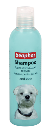 Shampoo White Coat Aloë Vera - 250ml - English/Romanian