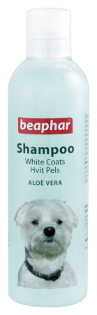Shampoo White Coat Aloë Vera - 250ml - English/Norwegian