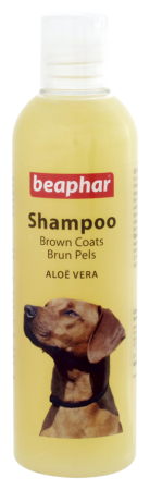 Shampoo Brown Coat Aloë Vera - English/Norwegian
