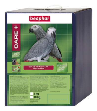 CARE+ Grey Parrots - 5kg - Dutch