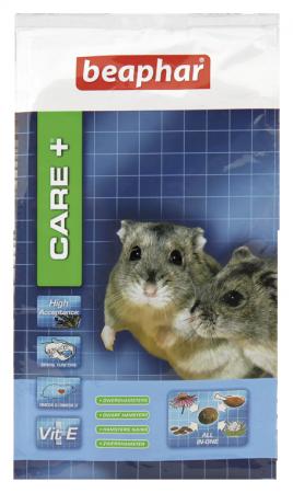 CARE+ Dwarf Hamster Food - 250g - Dutch/French/English/German/Spanish/Italian/Greek/Norwegian