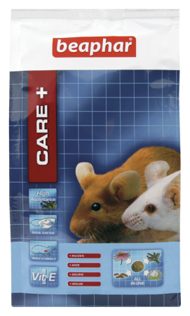 CARE+ Extruded Mouse Food - Dutch/French/English/German/Spanish/Italian/Greek/Norwegian