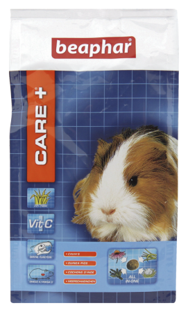CARE+ Extruded Guinea Pig Food - 250g - Dutch/French/English/German/Spanish/Italian/Greek/Norwegian