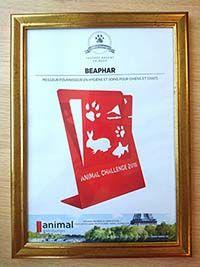 Beaphar récompensé aux Trophées Animal Challenge