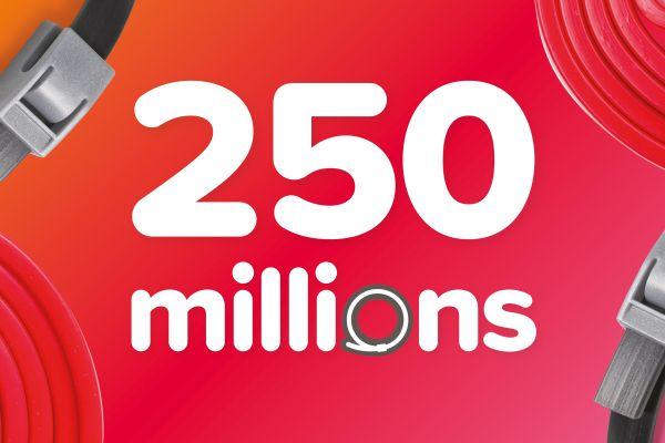 Beaphar célèbre le 250 millionième collier anti-puces