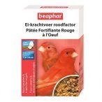 Pâtée fortifiante rouge aux œufs pour oiseaux