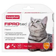 FIPROtec, pipettes antiparasitaires au Fipronil pour chat