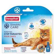 Pipettes stop parasites pour chats