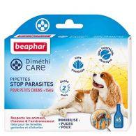 Pipettes stop parasites pour petit chien (<15kg)