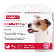 FIPROtec, pipettes antiparasitaires pour chien