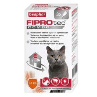 FIPROtec Combo, pipettes antiparasitaires chat et furet