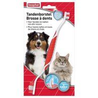 Brosse à dents haleine fraîche pour chien et chat