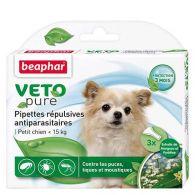 VETOpure, pipettes répulsives antiparasitaires chien