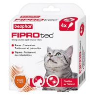 FIPROtec, pipettes antiparasitaires au Fipronil chat