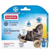 Pipettes stop parasites pour chiots