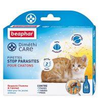 Pipettes stop parasites pour chatons