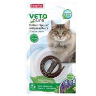Collier répulsif antiparasitaire pour chat