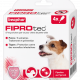 Pipettes antiparasitaires chien