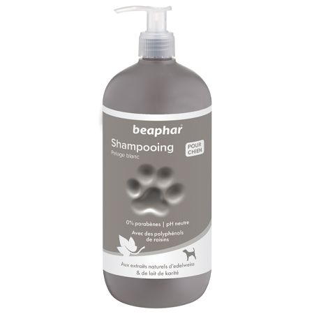Premium Shampoo White Coat - 750ml - French