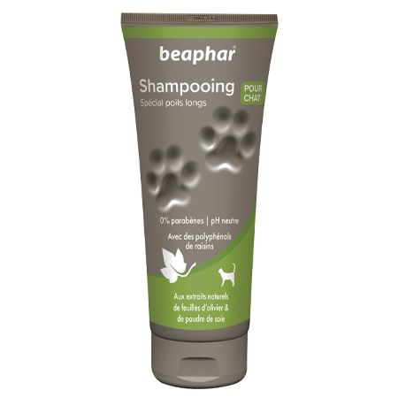 shampooing chat poils longs