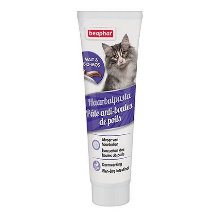 Pâte anti-boules de poils chat