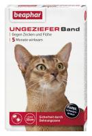 Ungezieferband Katze