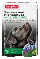Zecken- und Flohschutz Halsband reflektierend Hund