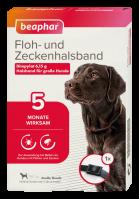 Floh- und Zeckenhalsband für große Hunde, 65cm