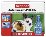 Anti-Parasit SPOT-ON für Kleinnager & Zierkaninchen 300-700g