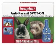 Anti-Parasit SPOT-ON für Kleinnager & Zierkaninchen 700-1.600g
