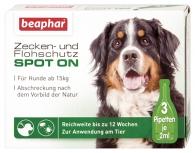 Zecken- und Flohschutz SPOT-ON für große Hunde (ab 15kg)