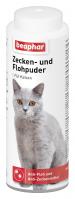 Zecken und Flohpuder Katze