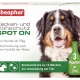 Zecken- und Flohschutz SPOT ON für große Hunde