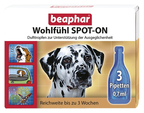 Calming Spot On for Dogs - German