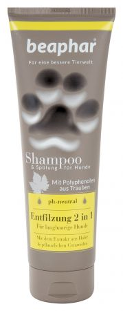 Premium Shampoo Entfilzung 2 in 1 250 ml