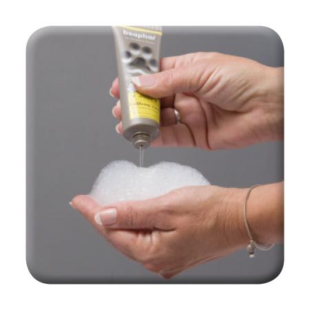 Premium Shampoo Entfilzung 2 in 1 - Anwendung