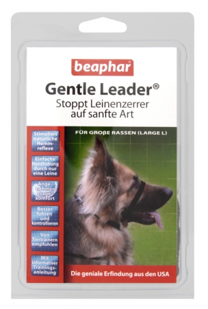 Gentle Leader Black (Large) - German