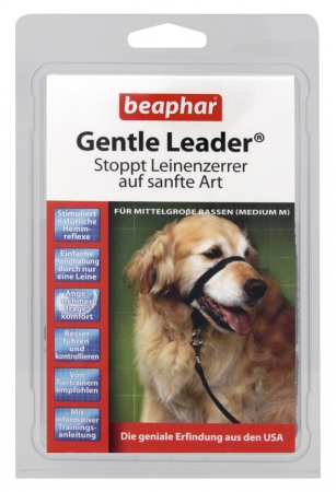 Gentle Leader Black (Medium) - German