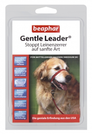 Gentle Leader Red (Medium) - German