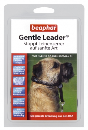 Gentle Leader Black (Small) - German