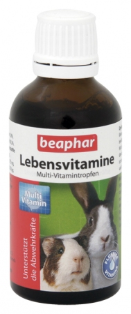 Multi Vit Small Animals - 50ml - German