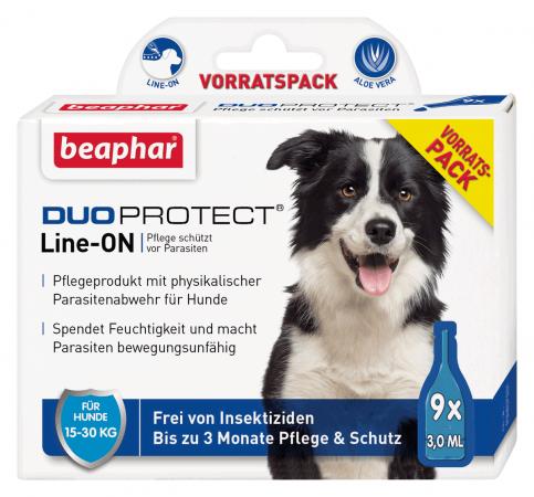 DUOPROTECT® für Hunde von 15-30 kg (9 x 3 ml)