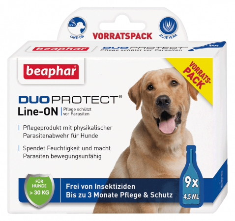 DUOPROTECT® für Hunde ab 15 kg (9 x 4,5 ml)