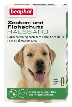 Zecken- und Flohschutz Halsband für Hunde