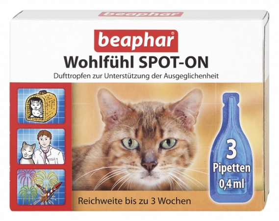 Calming Spot on for Cats - German