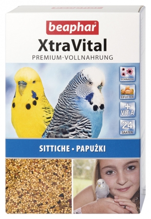 XtraVital Parakeet Feed - 1kg - German/Polish