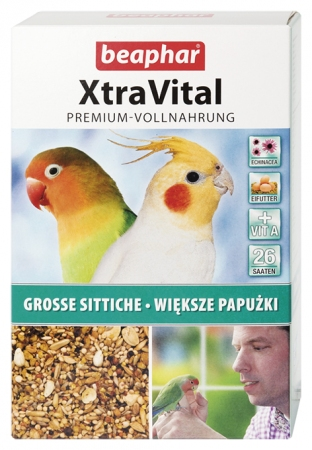 XtraVital Large Parakeet Feed - 1kg - German/Polish