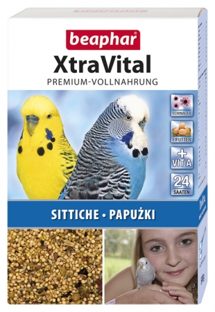 XtraVital Parakeet Feed - 500g - German/Polish