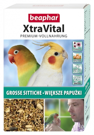 XtraVital Large Parakeet Feed - 500g - German/Polish