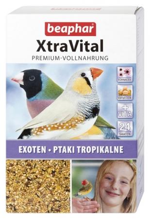 XtraVital Tropical Bird Feed - 500g - German/Polish